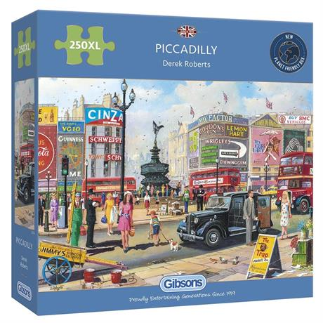 Piccadilly 250XL Piece Jigsaw Puzzle Image 1