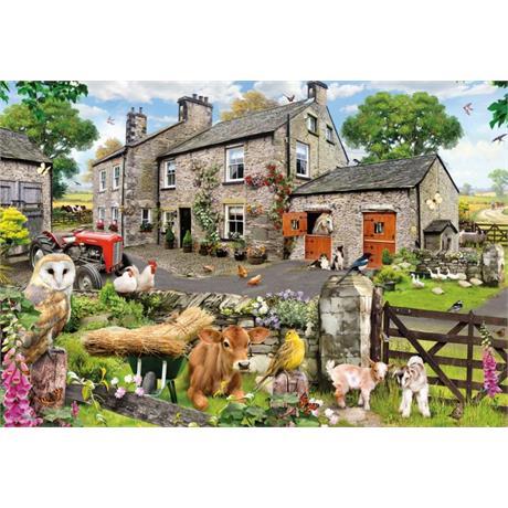 Farmyard Friends 100XXL Piece Jigsaw Puzzle Image 1