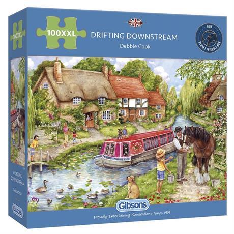 Drifting Downstream 100XXL Piece Jigsaw Puzzle Image 1