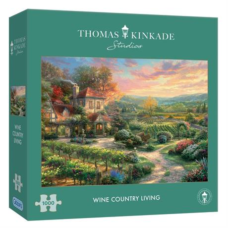 Wine Country Living Jigsaw Puzzle 1000 pieces (KInkade) Image 1