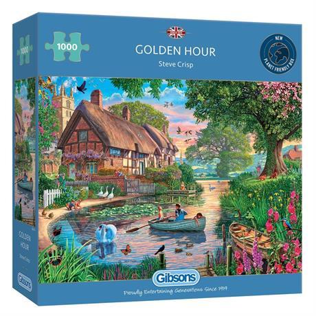 Golden Hour 1000 Piece Jigsaw Puzzle Image 1