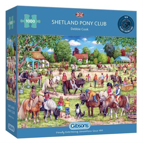 Shetland Pony Club 1000 Piece Jigsaw Puzzle  Image 1