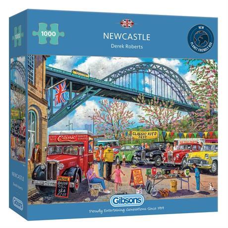 Newcastle 1000 Piece Jigsaw Puzzle Image 1