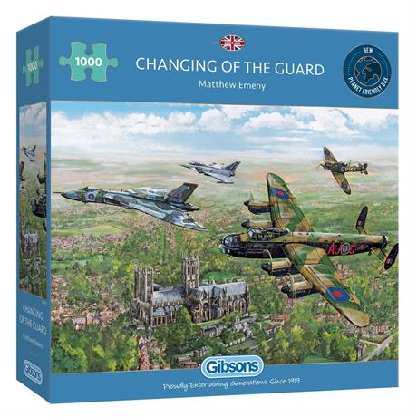 Changing of the Guard 1000 Piece Jigsaw Puzzle Image 1