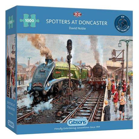 Spotters at Doncaster 1000 Piece Jigsaw Puzzle Image 1