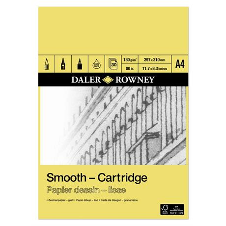 Daler Rowney Smooth Cartridge Pads Image 1