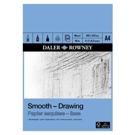 Daler Rowney Smooth Drawing Pads 96gsm Image 1