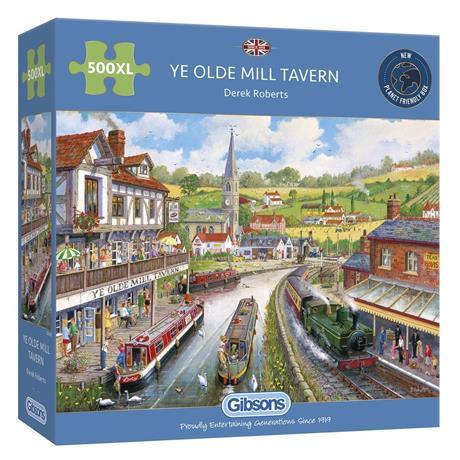 Ye Olde Mill Tavern 500XL Piece Jigsaw Puzzle Image 1