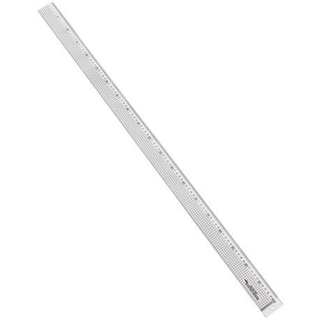 Jakar Acrylic Rule with Steel Cutting Edge 100cm Image 1