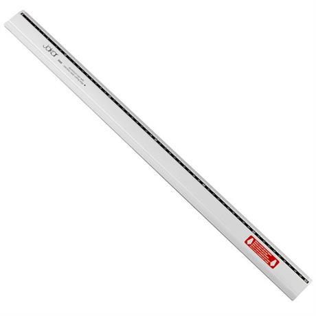 Jakar 60cm Aluminium Ruler Stainless Steel Cutting Edge Image 1