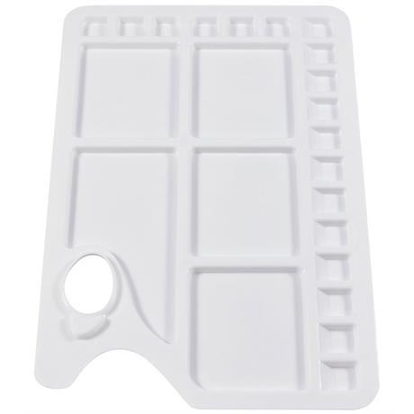 Jakar White Plastic Palette 23 well Image 1
