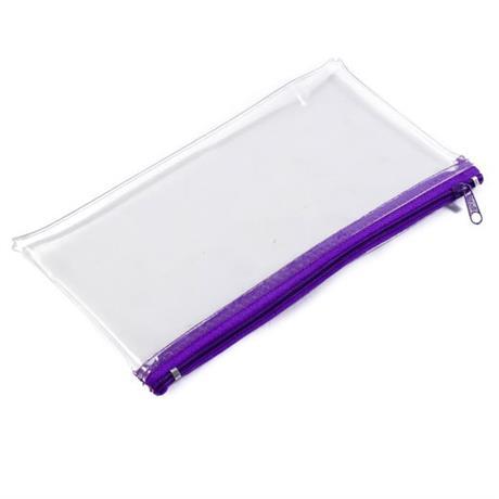 Jakar Clear PVC Pencil Case Image 1
