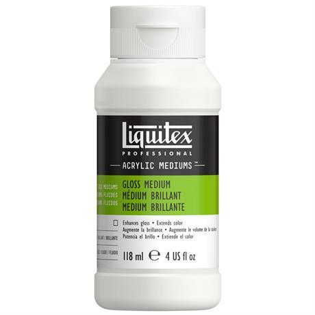 Liquitex Acrylic Gloss Medium & Varnish Image 1