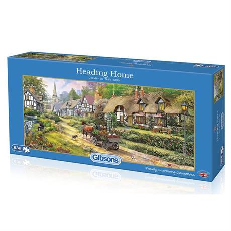 Heading Home 636 Piece Jigsaw Puzzle Image 1