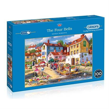 The Four Bells 2000 Piece Jigsaw Puzzle Image 1