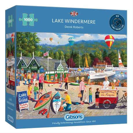 Lake Windermere 1000 Piece Jigsaw Puzzle Image 1