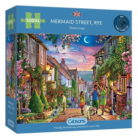 Mermaid Street Rye 500XL Piece Jigsaw Puzzle Image 1