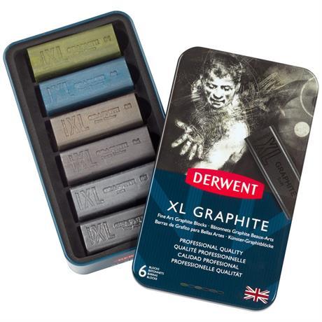 Derwent XL Graphite 6 Tin Image 1