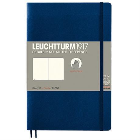 Leuchtturm B6+ Plain Softcover Notebooks Image 1