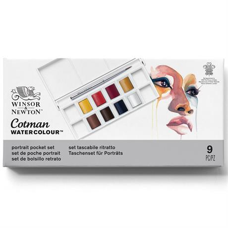Cotman Watercolour Portrait Pocket Set Image 1