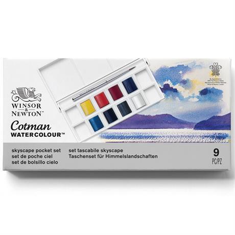 Cotman Watercolour Skyscape Pocket Set Image 1