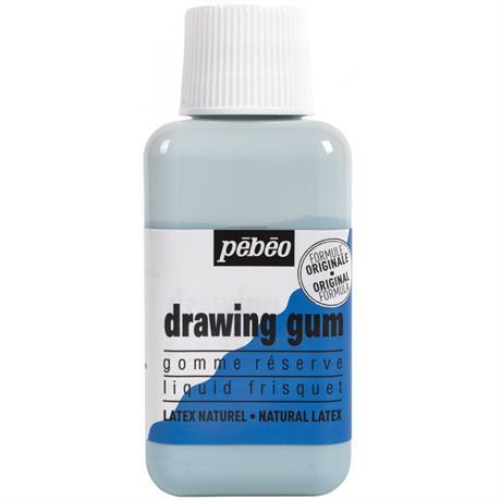 Pebeo Drawing Gum 250ml Bottle Image 1