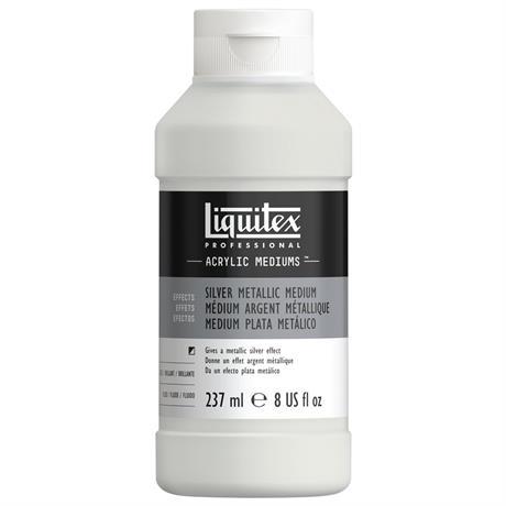 Liquitex Silver Metallic Medium 237ml Image 1