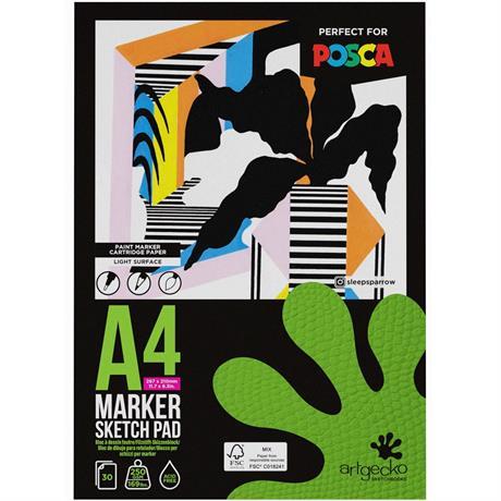 Artgecko Pro Marker Sketch Pads 250gsm Image 1