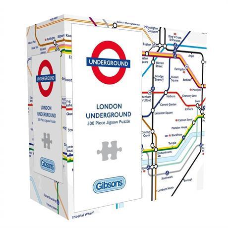 London Underground 500 Piece Gift Jigsaw Puzzle Image 1