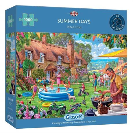 Summer Days 1000 Piece Jigsaw Puzzle Image 1