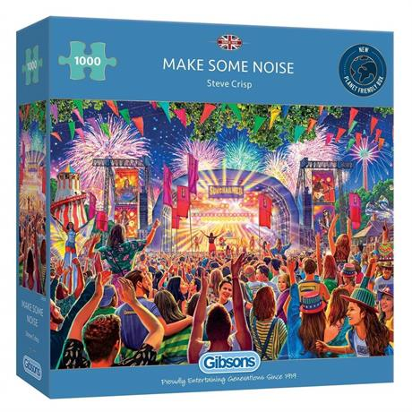 Make Some Noise 1000 Piece Jigsaw Puzzle Image 1