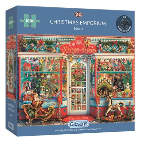 Christmas Emporium 1000 Piece Jigsaw Puzzle Image 1