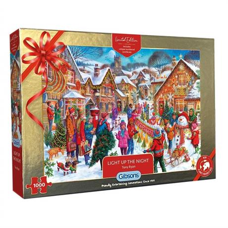 Light Up The Night Limited Edition 2021 1000 Piece Jigsaw Puzzle Image 1