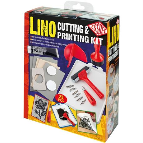 Essdee Lino Cutting & Printing Kit Image 1