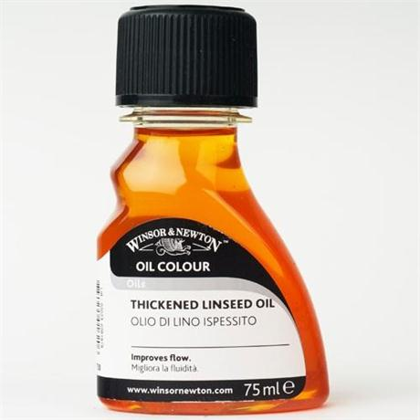 Winsor & Newton Thickened Linseed Oil 75ml Image 1