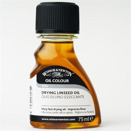 Winsor & Newton Drying Linseed Oil 75ml Image 1