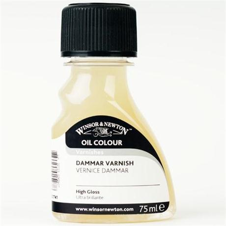 Winsor & Newton Dammar Varnish 75ml Image 1