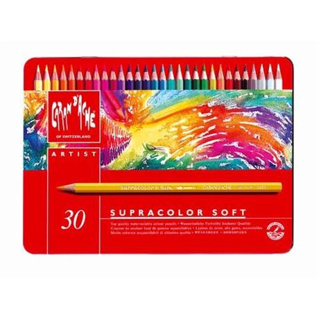 Supracolor Soft Tin of 30 Pencils Image 1