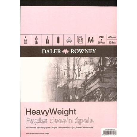 Daler Rowney Smooth Heavyweight Cartridge Pad 220gsm Image 1
