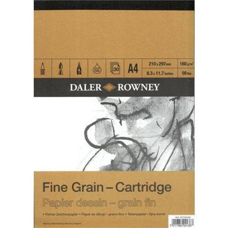 Daler Rowney Fine Grain Cartridge Pad Image 1