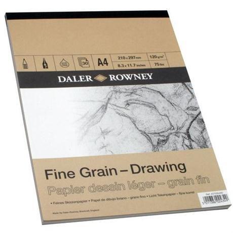 Daler Rowney Fine Grain Drawing Pad Image 1