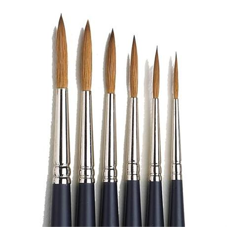 Winsor & Newton Artists' Water Colour Sable Brush - Rigger Image 1