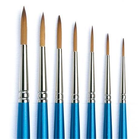 Cotman Series 222 Short Handled Designers Brushes Image 1