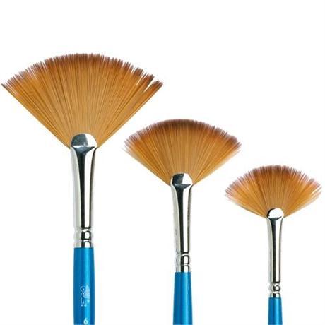 Cotman Series 888 Short Handled Brushes - Fan Image 1