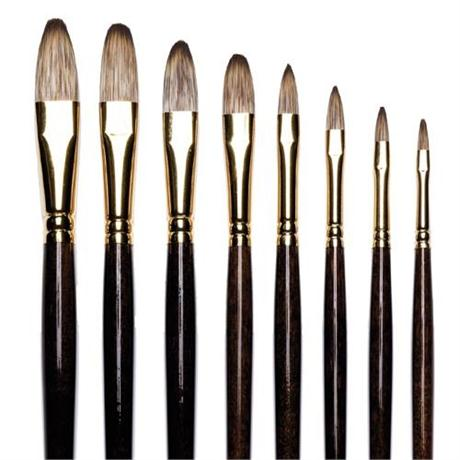Winsor & Newton Monarch Brushes - Filbert Image 1