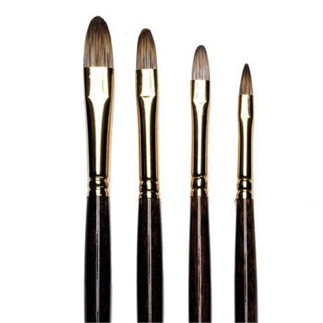 Winsor & Newton Monarch Brushes - Short Filbert Image 1