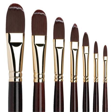 Galeria Long Handled Brushes - Filbert Image 1