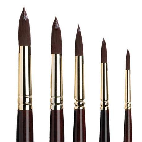 Galeria Short Handled Brushes - Round Image 1