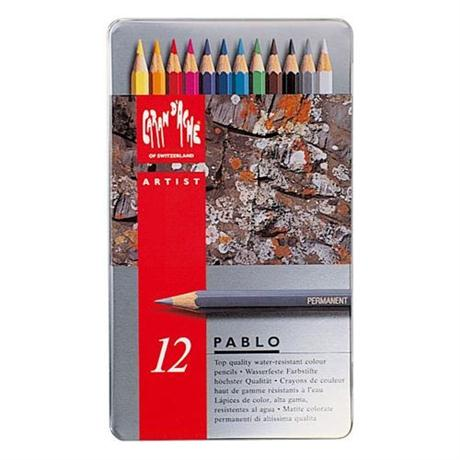 Pablo Tin of 12 Pencils Image 1