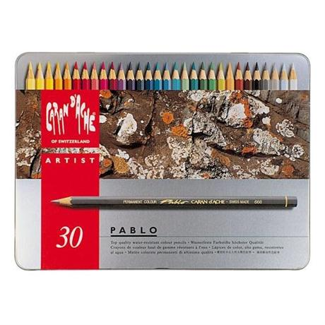 Pablo Tin of 30 Pencils Image 1